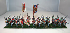 Front Rank 28mm British Napoleonic Line Infantry Battalion (2) -Well painted