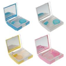 4 in 1 New Contact Lens Case Container Travel Portable Kit Holder Mirror Box Set