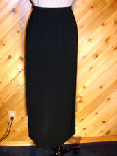 Chicos Private Edition Black Long Skirt 1 S 8/10