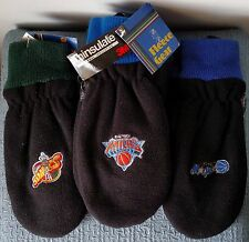 Fleece Gear ~ 3M Thinsulate ~ THERMAL MITTENS ~ Sports Team Logos ~ You choose!