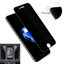 3D Curved Full Cover Anti-Spy Tempered Glass Screen Guard for Apple iPhone 5 6 7