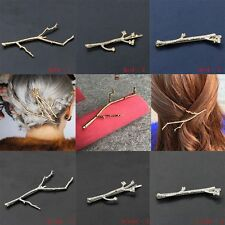 2PCS Hairpins Gold Silver Hair Clips For Women Bobby Pins Wedding Hair Jewelry