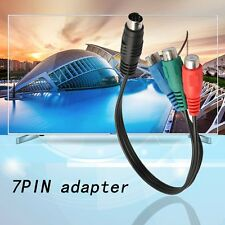 S-Video to 3 RCA RGB Component TV HDTV Cable Connect Your Laptop to HDTV JH