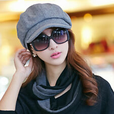 Women Newsboy Cabbie Gatsby Hats Flat Duckbill Ivy Cap Golf Driving Fashion Hat