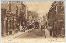 Bedfordshire Luton Old Chapel Street Old Photo Print - Size Selectable - England