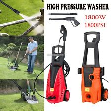 NEW! HIGH PRESSURE WASHER 1800 PSI/125 BAR ELECTRIC WATER CAR PATIO CLEANER #ER9