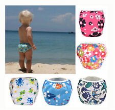 Baby Newbaby Swim Diaper for Baby Leakproof Reusable Adjustable Infant Swimwear&