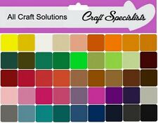 "Acrylic Craft Felt 9"" Squares - Ideal for Crafting & Soft Toy making 45 Colours"