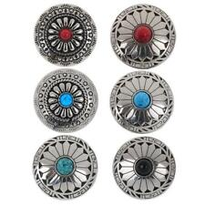 5pcs Metal Tack Snap Studs Buttons Snap Fasteners Leather Jeans Buttons 30mm
