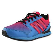 Adidas Streetrun VII K Youth  Round Toe Synthetic Blue Sneakers NWOB