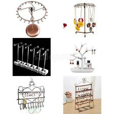 Jewelry Earrings Necklace Display Tree Stand Organizer Holder Rack Organizer