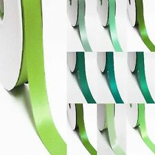 "3 Yards Single Sided 3.5"" / 75mm YAMA High End Satin Ribbon  Lime to green"