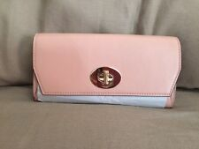 *AUTHENTIC* COACH TURNLOCK ENVELOPE WALLET IN SMOOTH LEATHER, APRICOT! MSRP $195