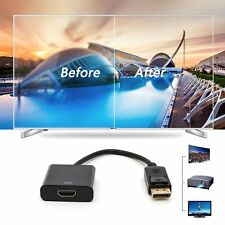 Displayport Male To HDMI Female Video Converter Conversion Cable Adapter 2K*4KJF