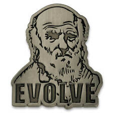 PinMart's Charles Darwin Theory of Evolution Science Lapel Pin