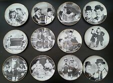 LAUREL &  HARDY  Limited Edition PLATES,  BOXED & CERTIFICATE, 3 for £50 OFFER