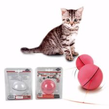 Pet Cat Dog Teaser Exercise LED Light Laser Ball Interactive Automatic Toy Gift