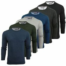 Mens Jumper Brave Soul Urbain Knitted Crew Neck Sweater Knitwear Jumpers