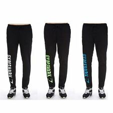 Stretch Calf Trousers Running Fitness Casual Pants Print Jogger Fit Sports Men