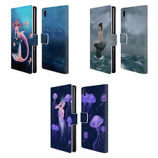 OFFICIAL RACHEL ANDERSON MERMAIDS LEATHER BOOK WALLET CASE FOR SONY PHONES 1