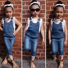 2PCS Toddler Baby Girls Outfits Short Sleeve T-Shirt / Pants Kids Clothes Sets