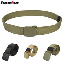 Men's Adjustable Nylon Military Tactical Waistband Rescue Rigger Belt 3 Color