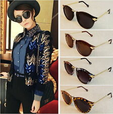 Women's Unisex Sunglasses Arrow Style Eyewear Round Sunglasses Metal Frame URVF