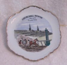 Vintage Churchill Downs Home of the Kentucky Derby Collectible 7 Inch Plate