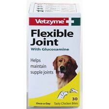 VETZYME FLEXIBLE JOINT Tablets or High Strength Flexible Joint Capsules 30 or 90