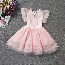Infant Girls Baby Fox Cosplay Party Prom Princess Pageant Evening Wedding Dress