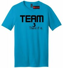 I In Team There Is Funny Mens V-Neck T Shirt Sports Sarcastic College Party Tee