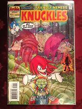 Sonic The Hedgehog Comic Book KNUCKLES Mini Series #1 First Edition Bagged  NM