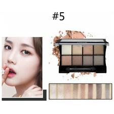 8 Colors Neutral Warm Eye Shadow Shimmer Matte Makeup Eyeshadow Palette Kit