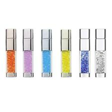 USB 2.0 Crystal Jewelry Flash Drive Memory Stick Storage Pen Drive Thumb U Disk