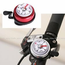 Bicycle handlebar compass single ping bell horn mountain Bike Road bike cycling