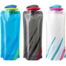 700mL Sports Travel Portable Collapsible Folding Drink Water Bottle Kettle Cup