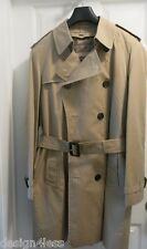 Burberry London Honey Waterproof Trench Coat. Size 50R Made in England