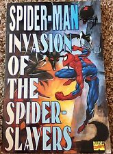 Spider-Man Invasion of the Spider-Slayers, 1st print 1995 Graphic Novel, OOP