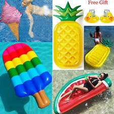 Swimming Pool Giant Inflatable Swim Float Summer Beach Water Raft Pool Toys New