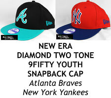 NEW ERA MLB JUNIOR DIAMOND TWO TONE YOUTH 9FIFTY SNAPBACK CAP - Atlanta/NY