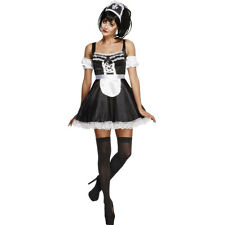Adult Flirty French Maid Ladies Sexy Fancy Dress Costume Outfit 31212