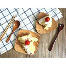 Dessert Cake Tray Cheese Dish Wood Serving Plate Dipping Saucer Triangle/ Square