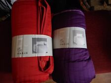 Ikea - KARIT BEDSPREAD AND 2 CUSHION COVERS choice of colour & Size