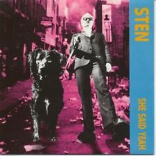 "STEN She Said Yeah 7"" VINYL UK Mint 1995 3 Track (Minty11) Pic Sleeve"