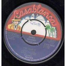 "FANNY I've Had It 7"" VINYL UK Casablanca 1974 Demo B/W From Where I Stand"