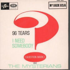 """QUESTION MARK AND THE MYSTERIANS 96 Tears 7"""" VINYL French Columbia 1966 4 Track"""