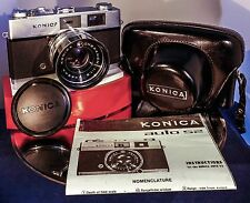 Vintage Konica Auto S2 35mm Rangefinder Camera-In Excellent Condition!