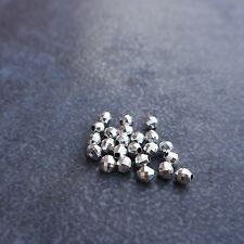 10pcs,925 sterling silver,2.5~5mm Disco Ball Beads,Spacer,DIY,Jewelry make,Craft