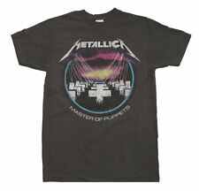 New Metallica Black Master Of Puppets Concert Tour Shirt Sm-XL Men's Women's