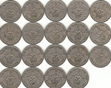 SCOTTISH ONE SHILLING COIN'S (1/-) 1947-1966 COIN HUNT